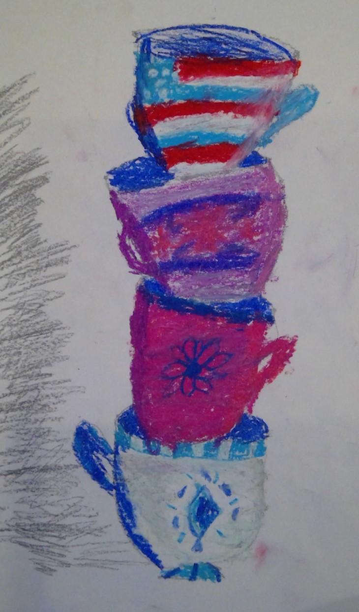 martha.cofee cup stack