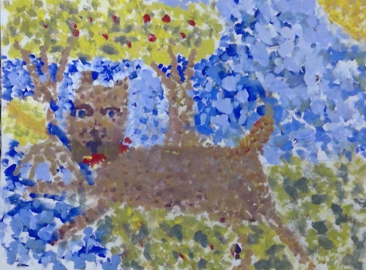 martha,pointillist horizontal