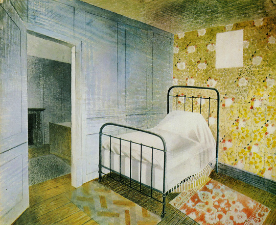 david ulin piece the bedstead 1938 eric ravilious the mainstone press