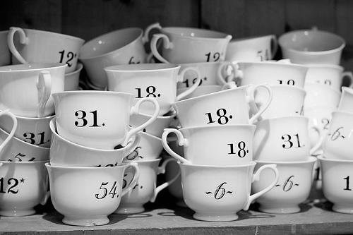 numbered cups clyde robertson